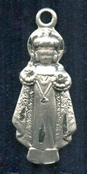 "Holy Infant Figurine - 1"" - Pewter"