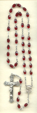 SAMPLE Sterling Silver Sacred Heart Chaplet