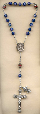 SAMPLE Sterling Silver St. Joan of Arc Chaplet