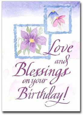 Sisters Of Carmel Love And Blessings Birthday Card Jpg 275x380 Catholic Wishes Granddaughter