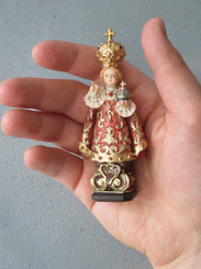 "Miniature Statue - Infant of Prague 4"""