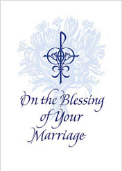 Blessing of Your Marriage wedding card