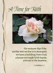 A Time for Faith Sympathy Card