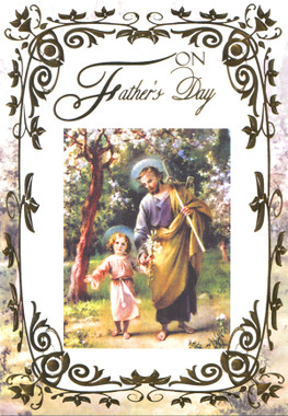 On Father's Day Greeting Card