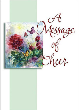 A Message of Cheer Greeting Card