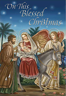 On This Blessed Christmas Card