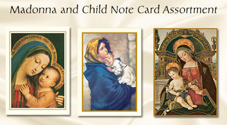 Madonna Cand Child Thank You Note Assortment