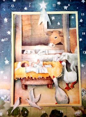 A Star Over Bethlehem Advent Calendar