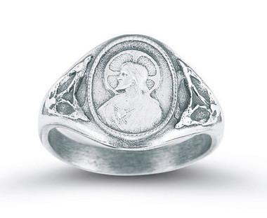 Sacred Heart Scapular Ring