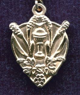Blessed Sacrament Medal - Gold Filled