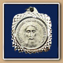 Square Holy Face Medal
