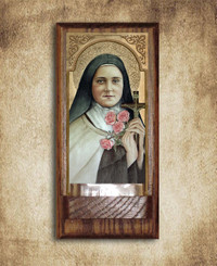St. Therese Holy water Font