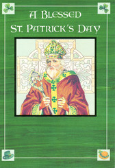 Blessed St. Patrick's Day Greeting Card