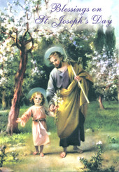 Blessings on St. Joseph's Day Greeting Card