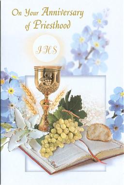 Anniversary of Priesthood Greeting Card