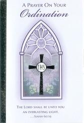 Prayer On Your Ordination Greeting Card
