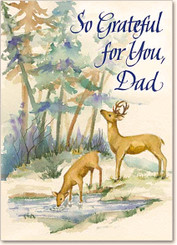 So Grateful for You, Dad Father's Day Greeting Card