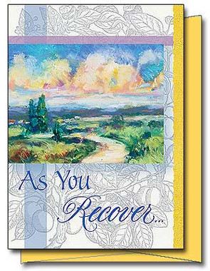 As You Recover Greeting Card