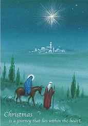 Christmas Journey Christmas Card
