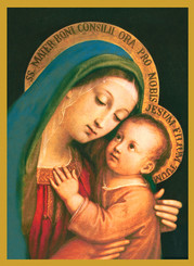 Our Lady of Good Counsel Christmas Card