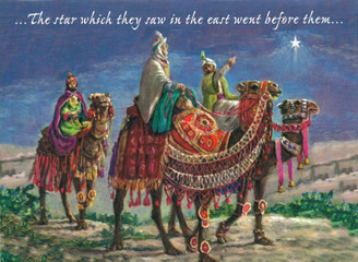 Star in the East Christmas Card