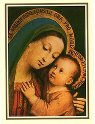 Mother of Good Counsel Single Thank You Card