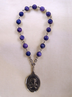 Nickel Silver St. Andrew Chaplet - sterling silver image coming soon