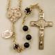 Men's Matte Black onyx St. Benedict Rosary