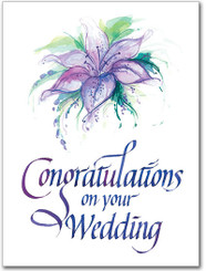 Congratulations on Your Wedding Greeting Card