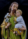 St. Joseph resin statue