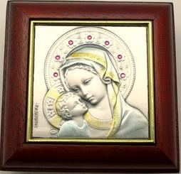 Mahogany Rosary Box