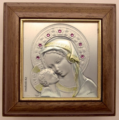 Madonna and Child Rosary Box