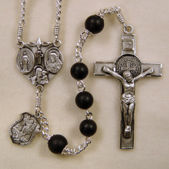 Black Onyx Men's Rosary