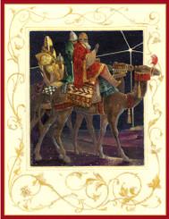 Magi's Journey Christmas Card