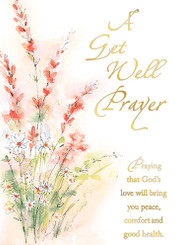 A Get Well Prayer Greeting Card