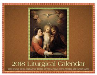 2018 Traditional Calendar