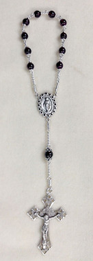Garnet 1-decade Rosary