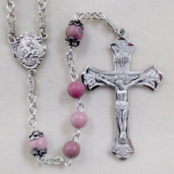 Rhodonite Rosary
