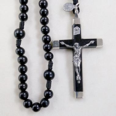 Ebony Cord Rosary