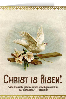 Christ is Risen with Dove