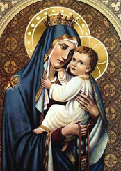 Our Lady of Mt. Carmel Greeting Card