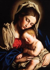 Madonna and Baby Jesus