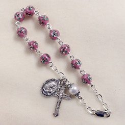 St. Therese Rosary Bracelet