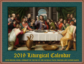 2019 Traditional Liturgical Calendar