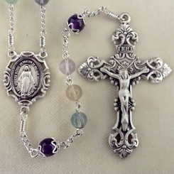 Lucite Rosary