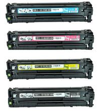 Canon 131 Laser Toner Cartridge 4PK - Black, Cyan, Magenta, Yellow (Remanufactured)