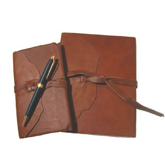 Timeless Elegance Sustainable Leather Agenda Set