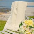 Organic Merino Wool / Silk Wrap Creamy White