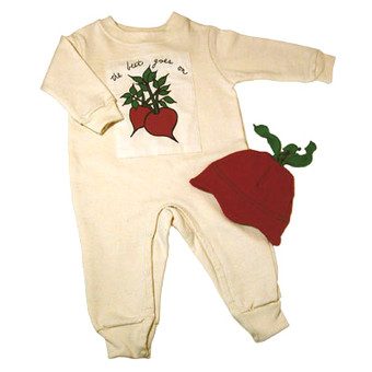 The Beet Goes On Organic Romper Set