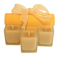 Tres'Or Beeswax Cancle Cube Trio